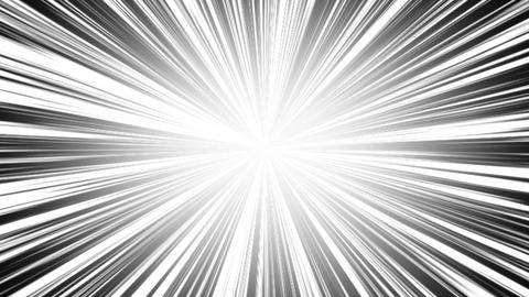 radial intensiveLine white Animation