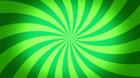 radial swirl green Animation