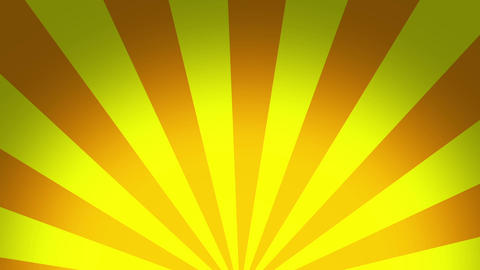 radial halfSunburst yellow Animation