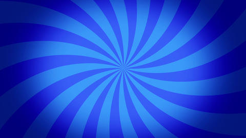 radial swirl blue Animation