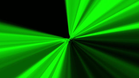 radial lightBurst green Animation