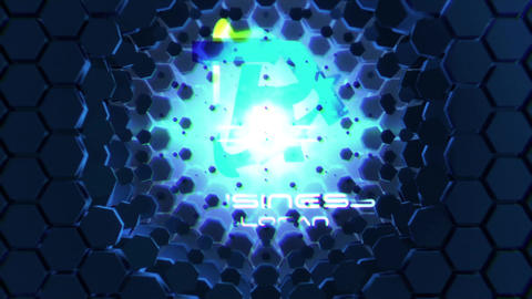 Futuristic Logo Reveal After Effects Template