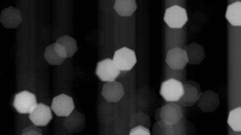 Shining Flickering Particles Black And White Background Animation
