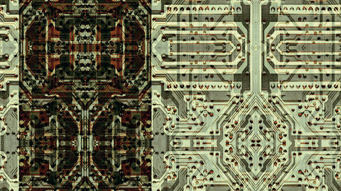 Integrated circuit board abstraction - Data Storm 0566 HD, 4K Animation