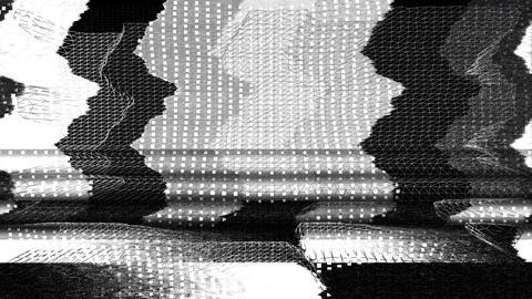 Futuristic video monitor malfunction - TV Noise 1016 HD, 4K Animation