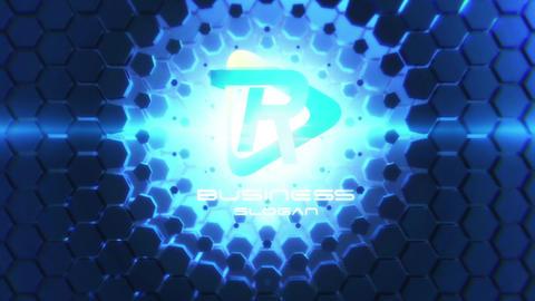 Into The Future Logo Reveal Premiere Proテンプレート