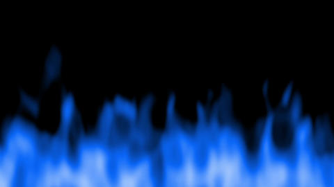fire blur under blue Animation