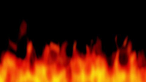 fire blur under red Animation