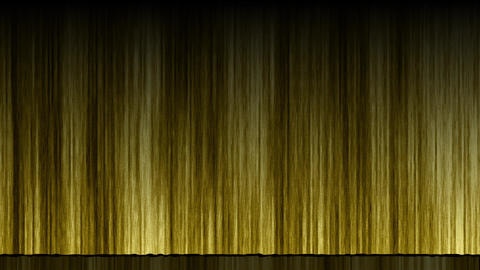 Stage Curtain UpDown gold Animation