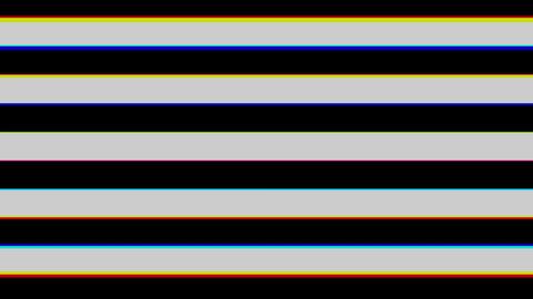 Stripe brack and white horizontal Stock Video Footage