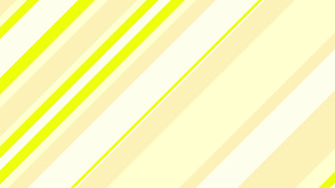 Stripe slanting yellow Animation