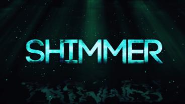 Shimmer Title Reveal After Effects Template