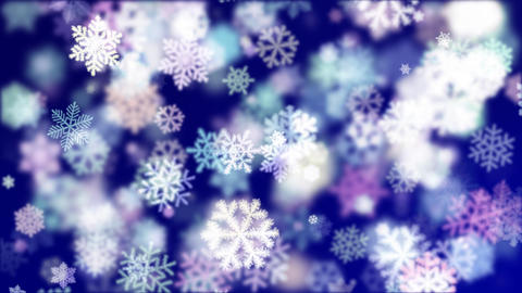 Winter Background 02 Animation