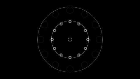 Concentric Circle 02 Animation