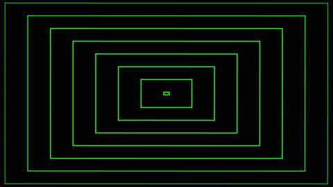 Concentric Radio Wave green Animation