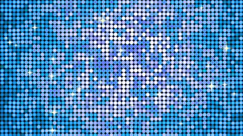 Spangle blue Animation