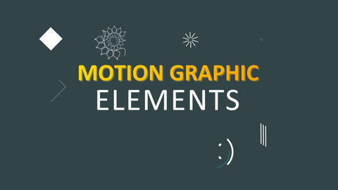 20 Motion Graphic Elements V2 Motion Graphics Template