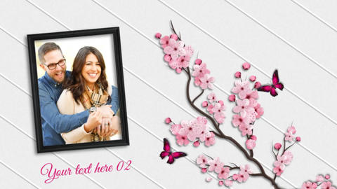 Spring Slideshow After Effects Template