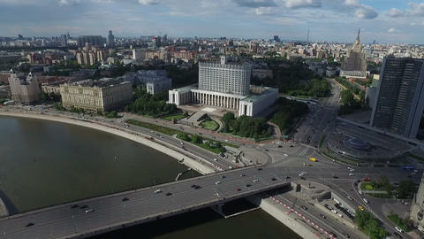 The house of Russian Federation Government or White house Live Action