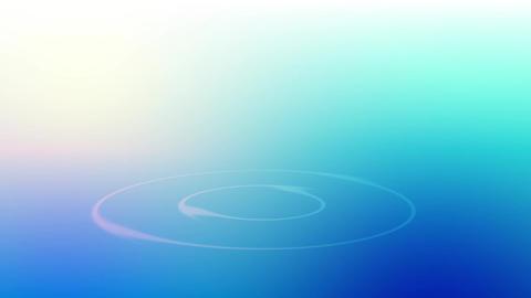Water ripple blue Animation