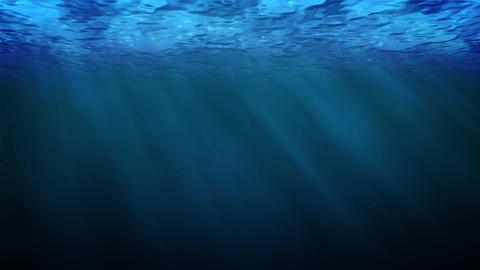 Water underWater blue Animation