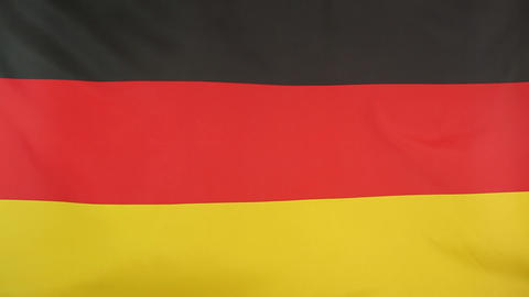 Germany flag in slow motion Footage