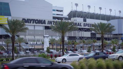 Daytona International Speedway Race track - NEW ORLEANS,... Stock Video Footage