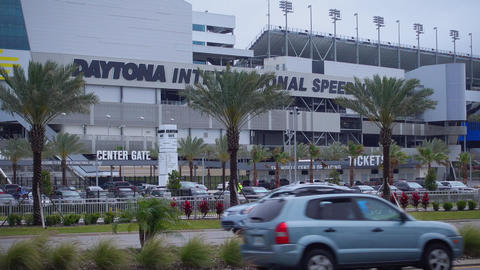 Daytona International Speedway Race track - NEW ORLEANS, LOUISIANA - APRIL 17, 2 Footage
