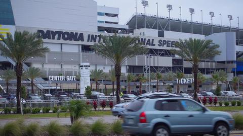 Daytona International Speedway Race track - NEW ORLEANS, LOUISIANA - APRIL 17, 2 Footage