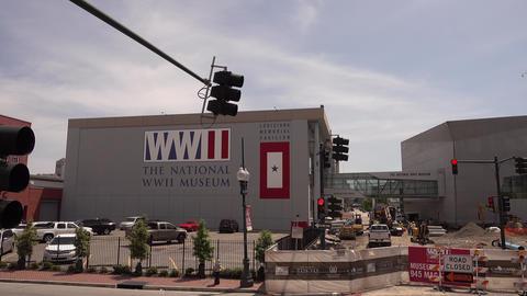 World War Ii Museum in New Orleans WW II museum - NEW... Stock Video Footage