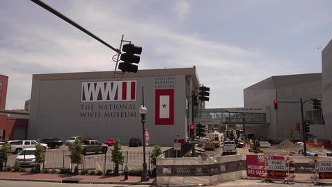 World War Ii Museum in New Orleans WW II museum - NEW ORLEANS, LOUISIANA - APRIL Footage
