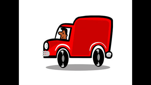 Red Van man Animation