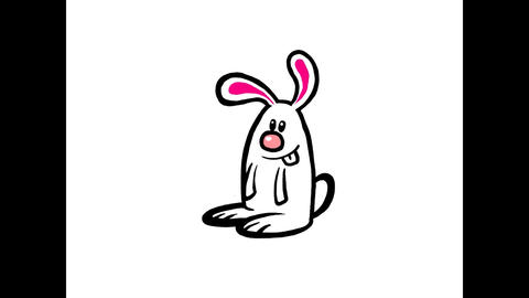 Rabbit cycle Animation
