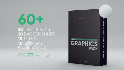 Motion Graphics Pack After Effects Template