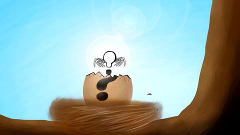 Hatching an idea, Stock Animation