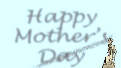 Rocket bloke Mothers Day Animation