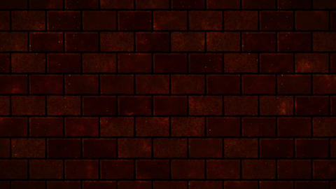 Brick remains large red Animation
