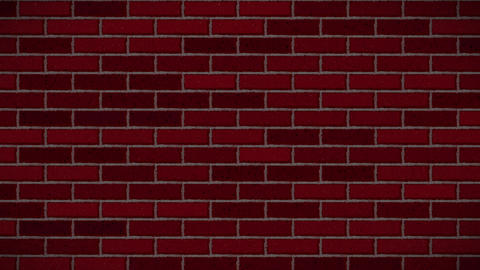 Brick remains middle red Animation