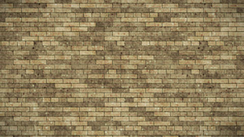 Brick small brown Animation