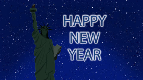 New York New Year, Stock Animation