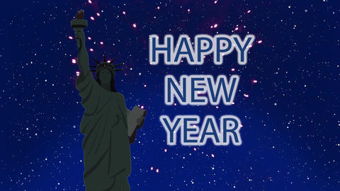 New York New Year Animation