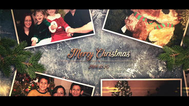 Christmas Photos After Effects Template