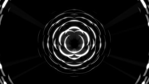 Motion rays ring edm visuals vj loop dj background Footage