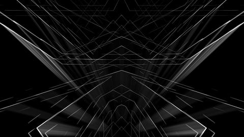 Rave smart lines visuals on black motion background vj loop ライブ動画