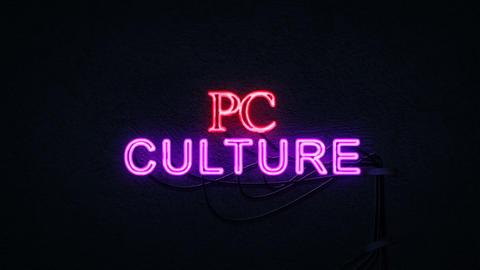 PC Culture Neon Sign Archivo