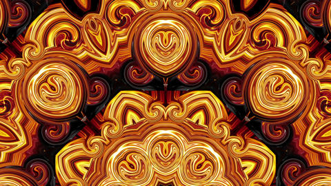 Art burn fire pattern visuals 3d animation motion background vj loop Live Action
