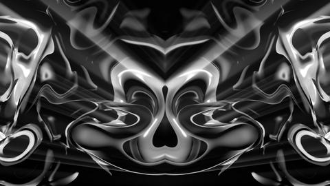 Dark wave fallen black waterfall abstract 3d animation visuals vj loop ライブ動画