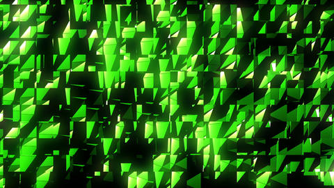Strobing green art patter motion background vj loop visuals Live Action