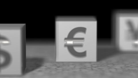 Block white currency Animation