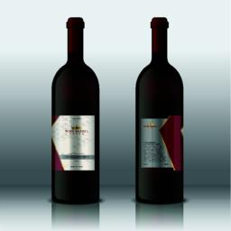 Modern Hight Quality Wine Labels Vector